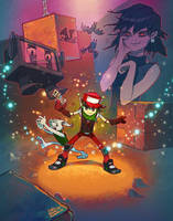 Cave Story Fan Art Version 2 by curtisdraws