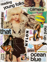 Nylon collage by happylittlemonsters