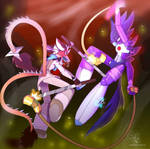 ::AT:: Diagon fight by DragonHF