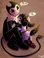 AT: Bendy and Brenda by DragonHF