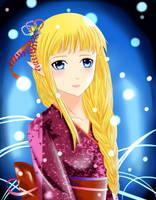 Kimono Zelda by OwlLisa