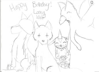 WIP B-Day by ApoloOhnoLuver77