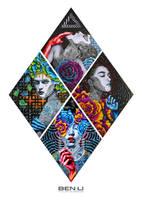 Four Queens (2014) by elevonART
