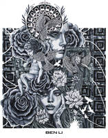 Tattoo Sleeve Design by elevonART