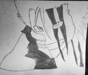 Grimjow from bleach by sasukepewdie