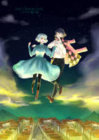 Howl's Moving Castle - Sophie and Howl by mxlk