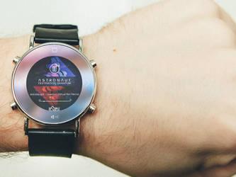 Smartwatch Audio Player UI by shahriyer