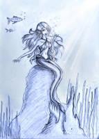 Mermaid by TwickyGirl