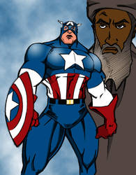 Captain America Colors by kftapout