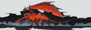 Red Dragon by Zhanac