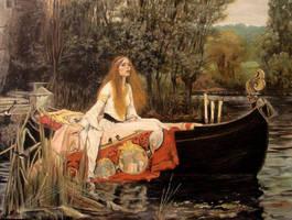 Lady of Shallott by Cahula