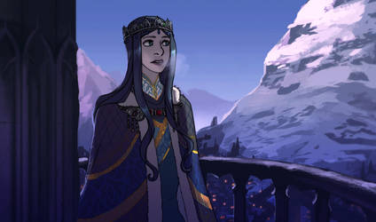 Queen Oriasse by elontirien