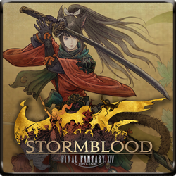 Final Fantasy XIV : Stormblood Icon by rellawing