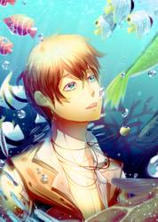 Aquamarine [HBD Yueru!] by ShyBlu