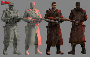 Russian elite soldiers by Kosmandis