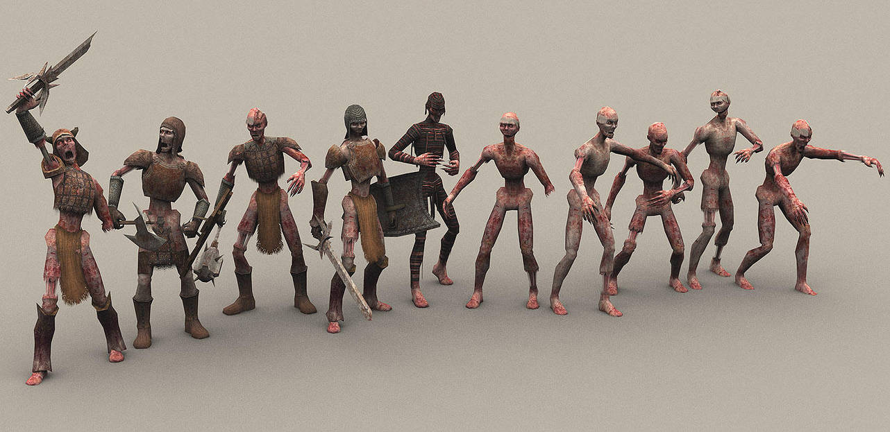Zombies by Kosmandis