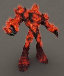 Fire Giant by Kosmandis