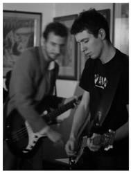 guitar and bass by Alsimair