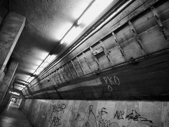 underground passage by Alsimair