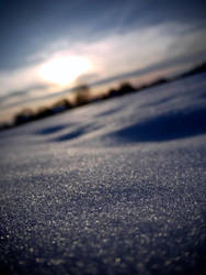 the snow by Alsimair