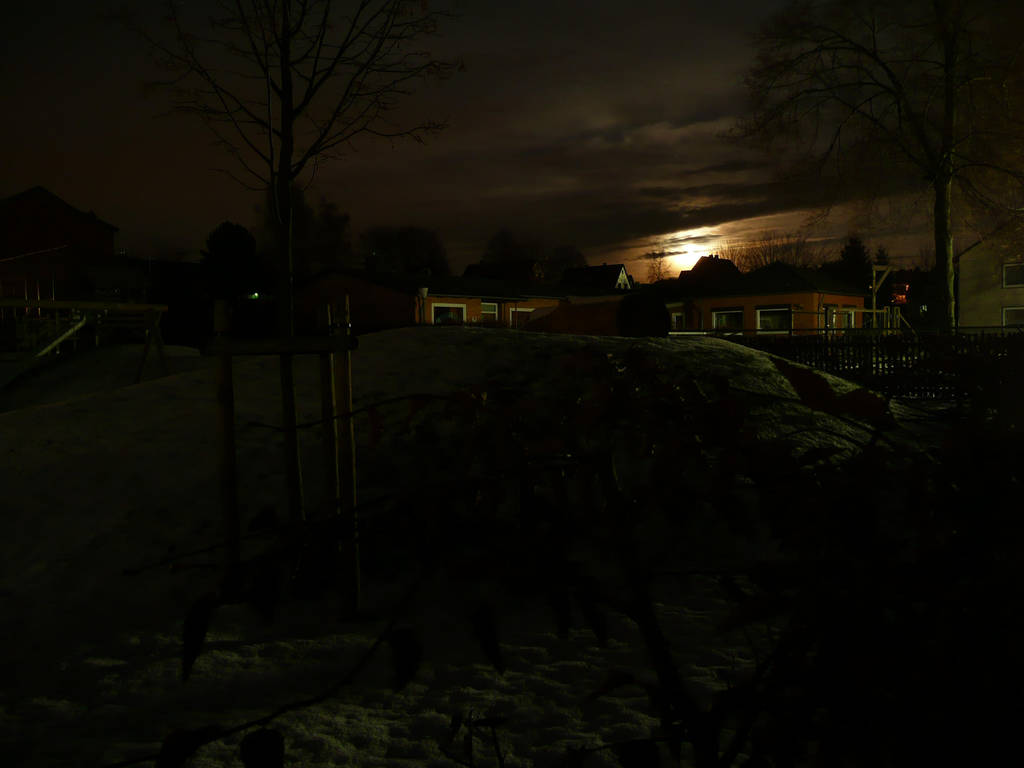 Surreal Moon above Lutter by roman2