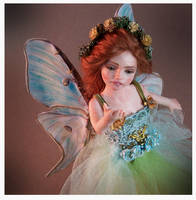 Verona Barrella OOAK Polymer Clay Art Dolls Fairy by veronabarrella