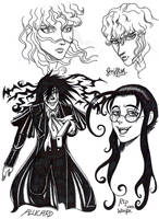inkedSketches-Hellsing Berserk by isolde