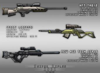 Sniper Rifles Design by ThoRCX
