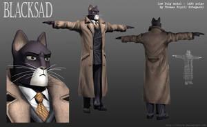 John Blacksad 3D model by ThoRCX