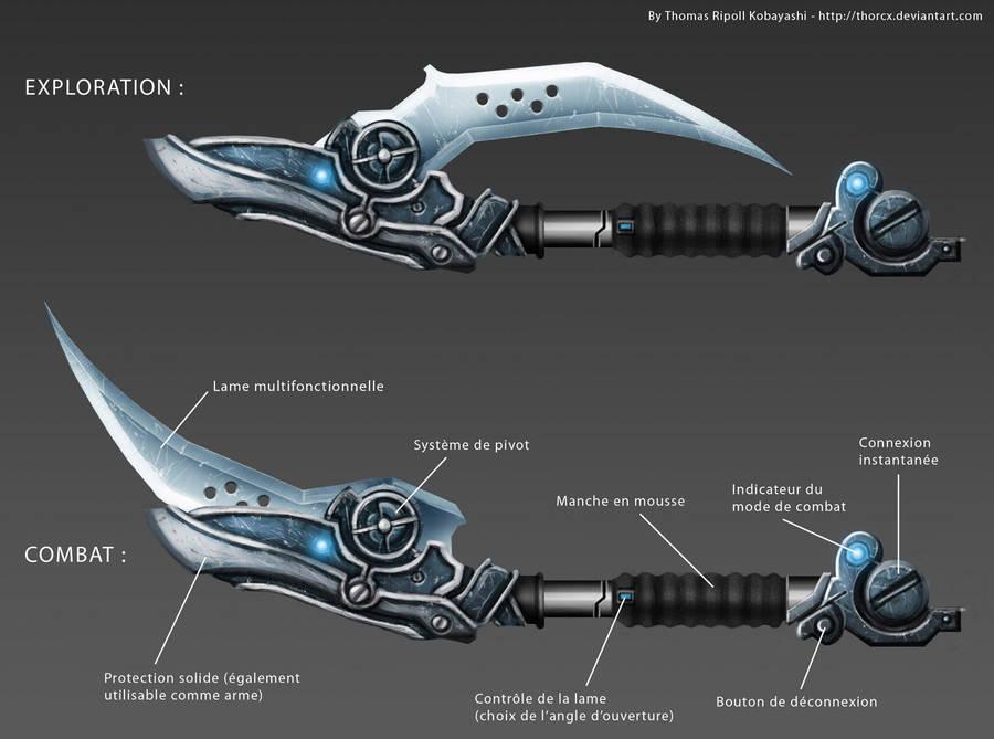 PC's weapon concept by ThoRCX