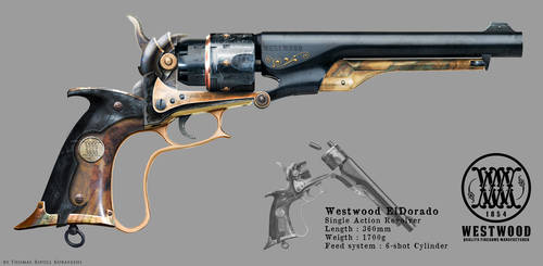 Westwood ElDorado - Revolver concept by ThoRCX