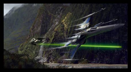 Study - Turned Star Wars by jewelsteel