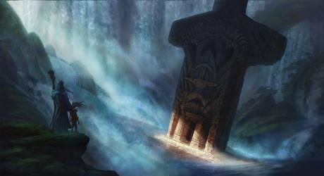 Sword in the Stone by jewelsteel