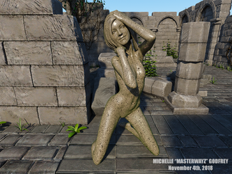 Sarah Stirling - NSFW Statue 2 by MasterWayZ