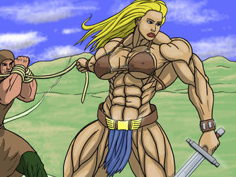 Peplum Muscle: Justice by devverus