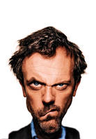 House MD cartoonish style by bruno-sousa