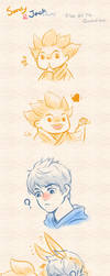 Rise Of The Guardians - Sandy and Jack by ispan0w0