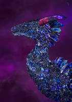 Tanzanite Dragon by pluto-my-way