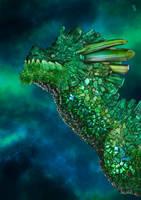 Emerald Dragon by pluto-my-way