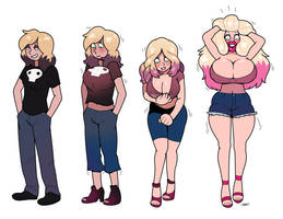 CMSN- growing out of your clothes by blackshirtboy