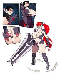 CMSN- Queens Witchblade by blackshirtboy
