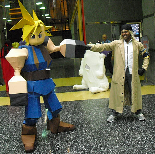 Final Fantasy Fist Pound by R-Legend