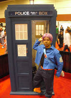 Trunks And The TARDIS by R-Legend
