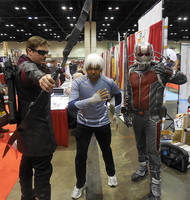 Hawkeye, Quicksilver and Ant-Man by R-Legend