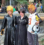 Xion and Roxas Trio by R-Legend