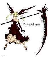 Soul Eater Maka (Manga) by Tyusidwi