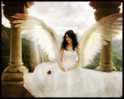 Flutterby Angel by Everild-Wolfden