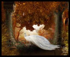 Autumn Peacock by Everild-Wolfden