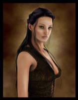 Dorena Portrait by Everild-Wolfden