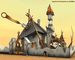 3D: exterior by DragonFrost-krist